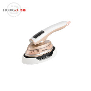 New design stainless steel panel portable mini travel steam iron