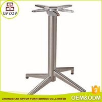 4 feet aluminum table base for stainless steel table