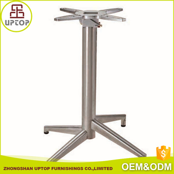 Feet Aluminum Table Base For Stainless Steel Table Buy Aluminum - 4 foot stainless steel table