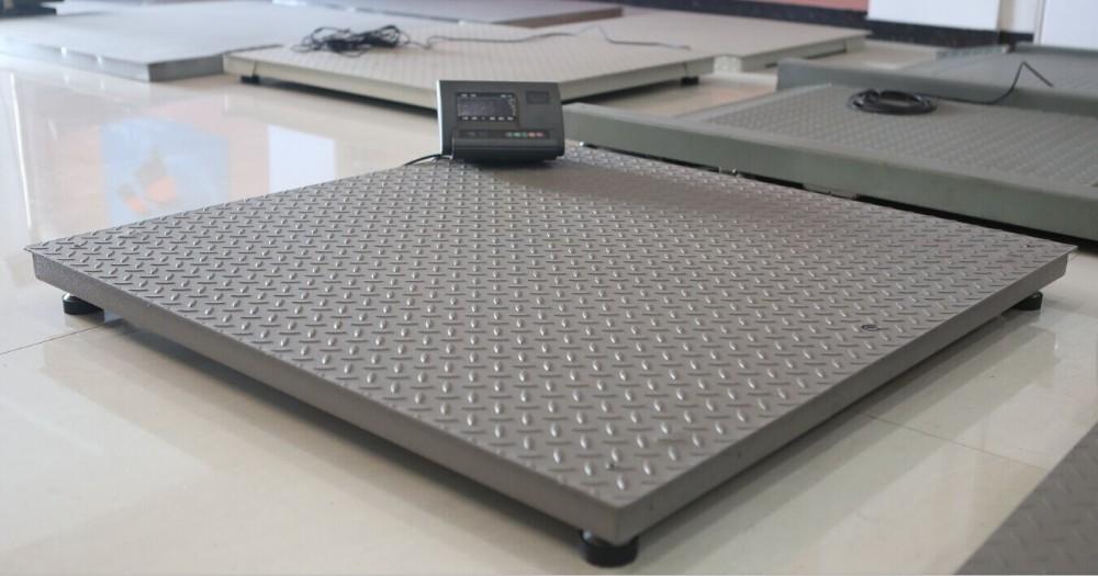 Floor Electric Weighing 5 Tons Industrial Floor Scale