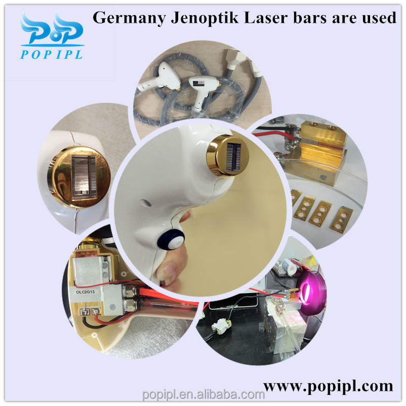 Repair alma Soprano xl/ ice handpiece Diode Laser Hair Removal china factory at cheap price
