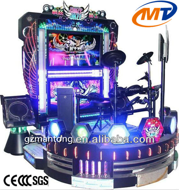 New style electronic Super Jazz drum/stylish amusement game machine for sale (MT-M003)