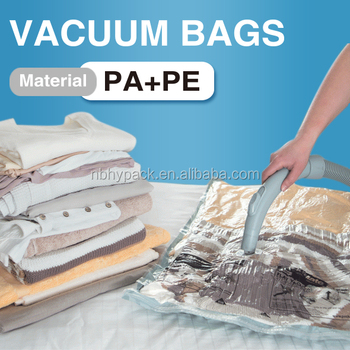 Vacuum Storage Bag For Quilts Bedding And Clothes