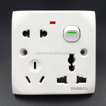 Middle East Luxury atmosphere with small night light switch of the USB socket