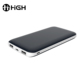 Cheap latest popular high capacity super slim 10000mah powerbank advertising rechargeable portable battery original power bank