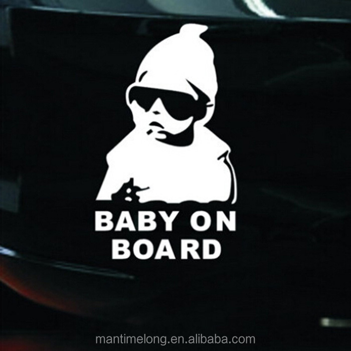 PERSONALISED Baby On Board Sign Baby Shades On Board Baby Car Sign