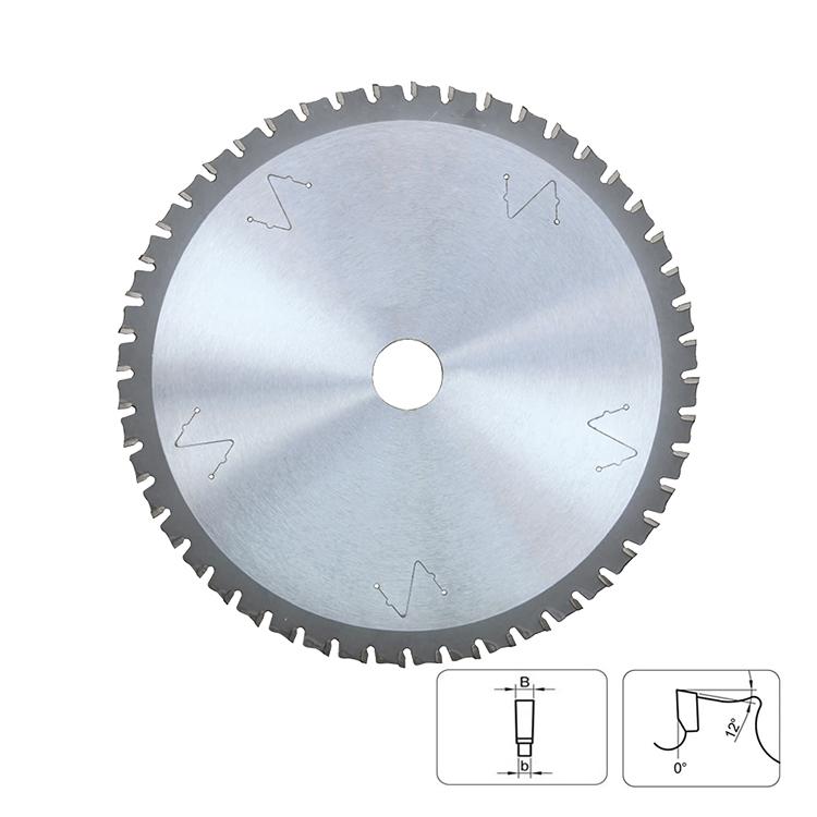 metal fine tooth steel cutting tct circular saw blades