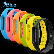 Smart Colorful For Xiaomi Mi band 1 1S Wristband Silicone Replace Belt Strap For Mi Band Bracelet Replacement Band Accessories