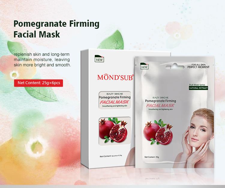 Mond'sub herbal moisturizing hydrating face mask