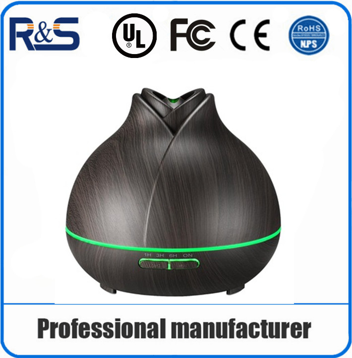 400ml Essential Oil Rose style Ultrasonic Cool Mist Air Humidifier Aroma Diffuser for Home