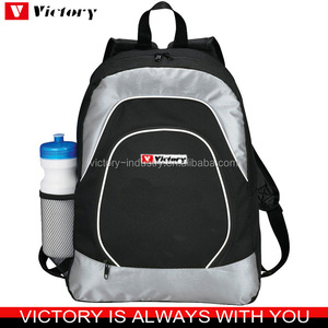 Personalized teenage school bag with water bottle backpack