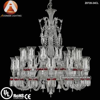 24 light chandelier lustre baccarat occasion