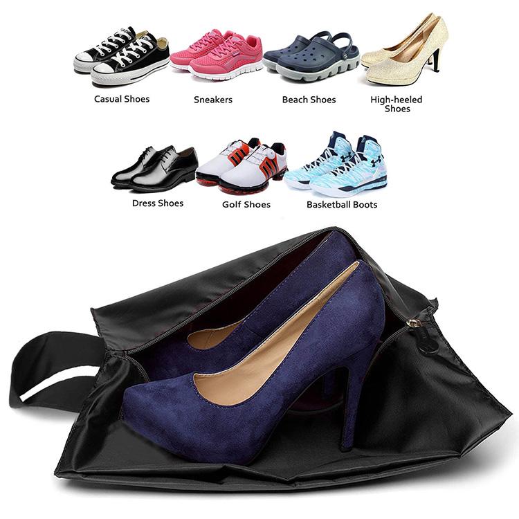 Su geçirmez Fermuar Naylon Seyahat ayakkabı çantası Erkekler & Kadınlar Için