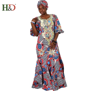 H & D Designs Clothes Women Ladies Nigerian African Dress Styles For Batik Kaftans Make