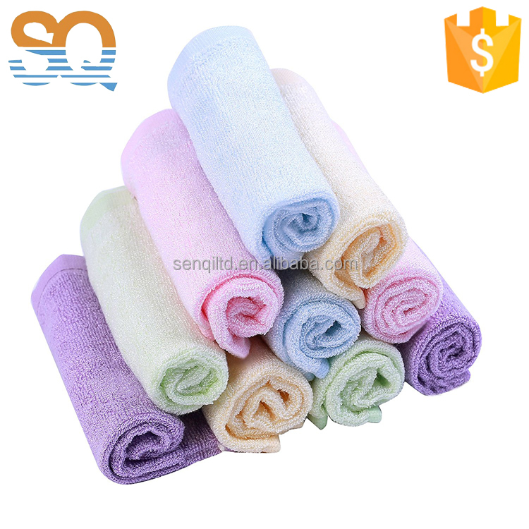 Soft 10-pack Bamboo Baby Washcloths wash Towels
