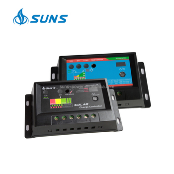 PWM 12V 24V 10A li-ion manual PWM solar charge controller With CE RoHS