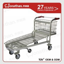 SXE-5 warehouse transporting hand push transport cargo trolley