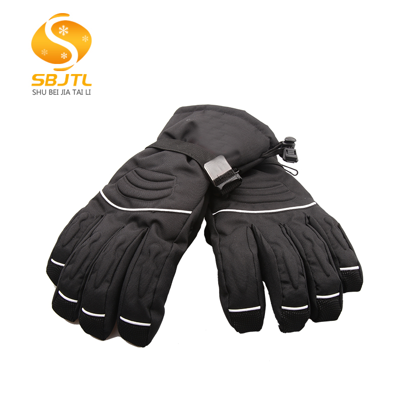 Wholesale customizable fashionadult winter leather snowboard skiing gloves in pakistan
