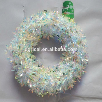 holographic christmas garland for decoration - Holographic Christmas Decorations