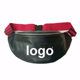 Fashion sport outdoor custom running hiking PU leather waist bag fanny pack