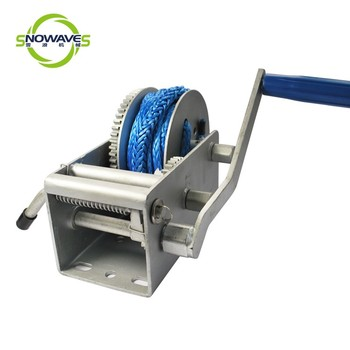 4500lbs 3 Speed Fiber Rope 2000kgs Boat Trailer Parts Manual Hand