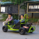 2018 Green go kart buggy/off road buggy go kart/80cc kids mini dune buggy