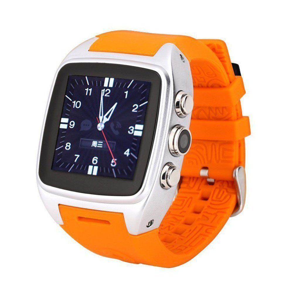 NEW Factory Price wrist watch phone android that take pictures WIFI 3G Sim GPS,Water proof Bluetooth For Smart phone&IOS