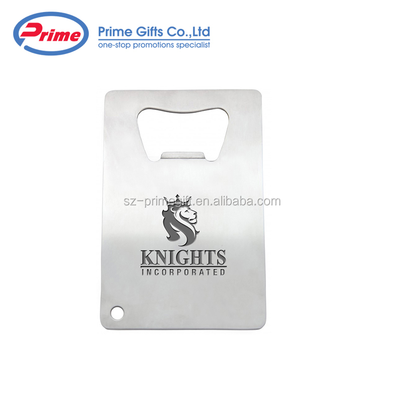 Creative Stainless Steel Credit Card Shaped Beer Bottle Opener