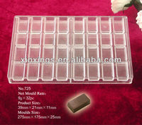 Hard plastic chocolate molds/PC chocolate mould