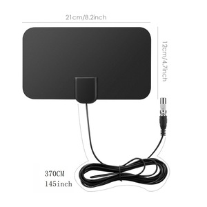 Basic Model Indoor Antenna TV TV Antenna with 50 Miles Range 1080P