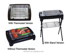 vendita calda 2000w <span class=keywords><strong>stand</strong></span> barbecue grill elettrico
