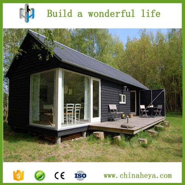 Low cost and fast construction portable prefab log cabin for Construction maison rapide