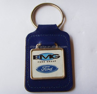 metal key chain with car logo key ring with your own logo