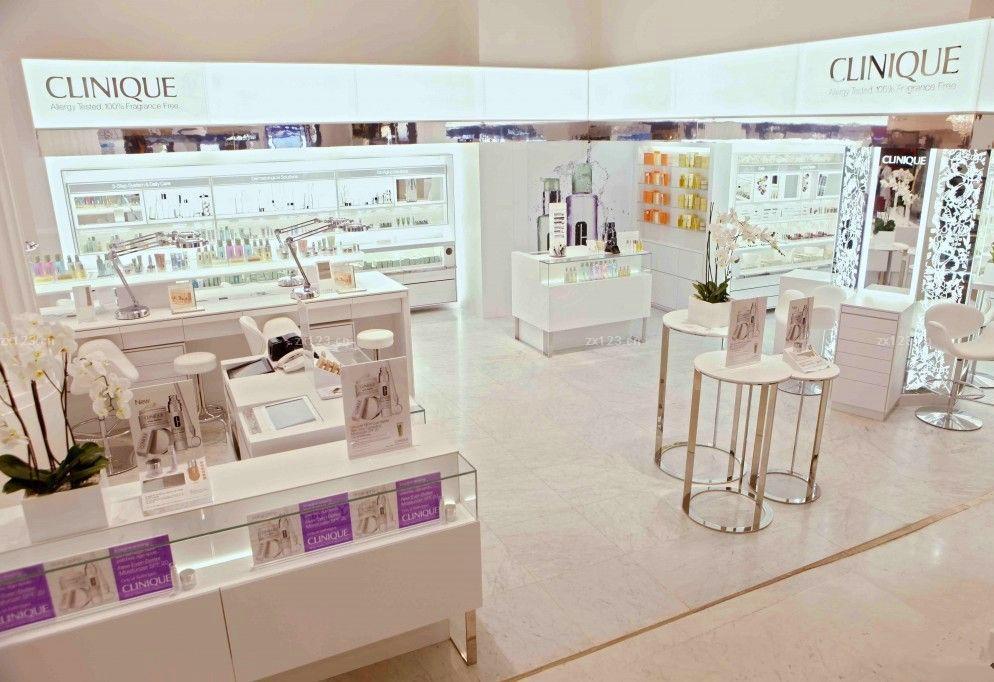 Cosmetic Store Fixtures Beauty Salon Shop Interior Design Make Up