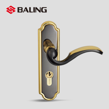 Wooden Interior Door Handles Lock On A Backplate For Uk Ironmongery
