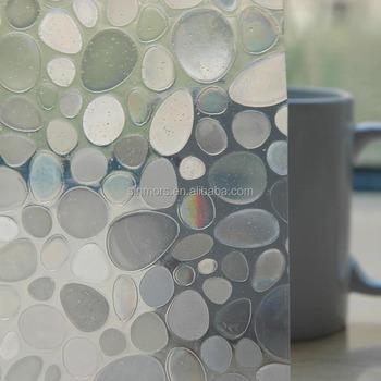 Wholesale jelly gel sticker window sticker glass sticker in roll static film window protect film for