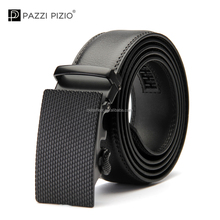 Newest Fashion Designer Belts Alloy Simple Style Buckle Men Genuine Leather Belt for Adult