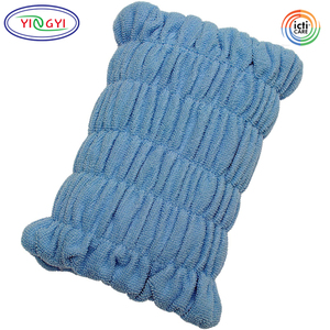 E931 Elastic Extendable Pull on Knee Cushion Terry Cloth Comfort One Size Fits Knee Cushion for Sleeping