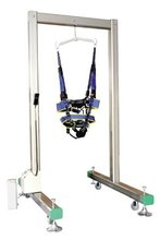 Pneumatically actuated Gait Training Frame/unweighting system rehabilitation equipment