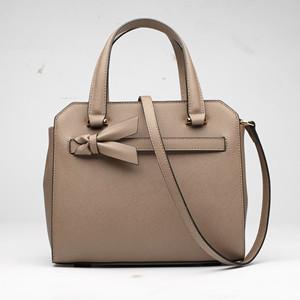 Guangzhou factory custom women handbag leather brand saffiano handbag hard leather  handbag DS08442 903ea963c49d4