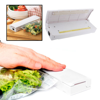 Hot sale fancy Reseal & Save Cordless Plastic Bag portable Heat Sealer