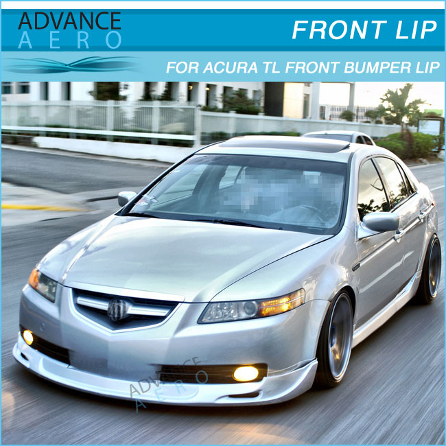 For Acura Tl Mug Style Urethane Diffuser Lip Splitter Buy - 2006 acura tl front bumper