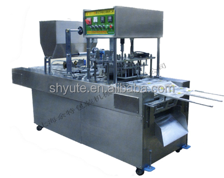 fast food filling and sealing packing machine /machinery