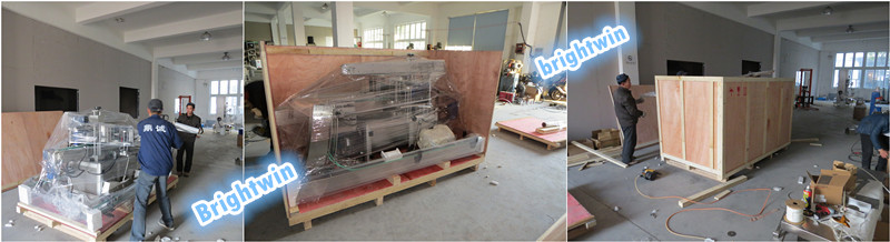 factory price automatic vacuume tin can sealing machine