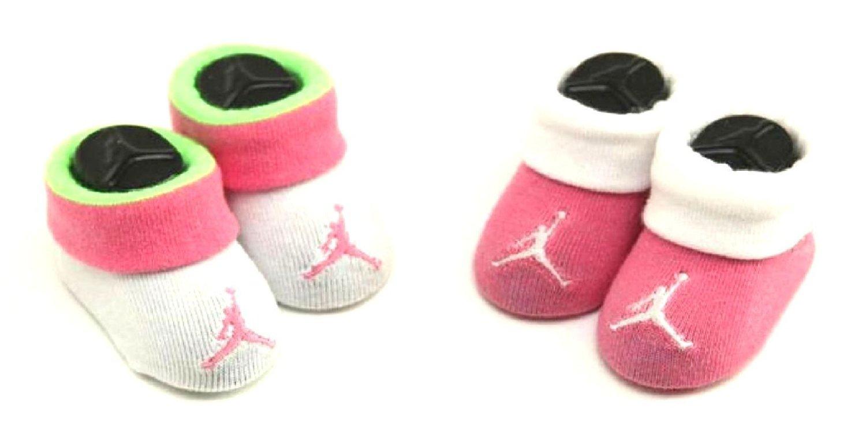 the best attitude e100d 7181c Buy Nike Air Jordan Baby Girls Booties Pink/Volt/White ...