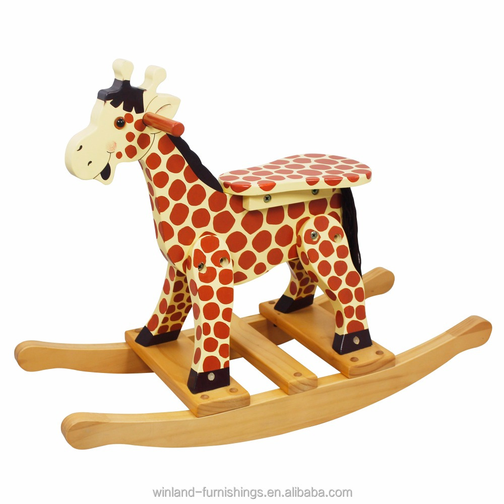 Wooden Giraffe Rocker, Wooden Giraffe Rocker Suppliers And Manufacturers At  Alibaba.com