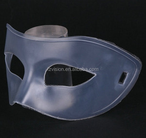 Wholesale High Quality plastic DIY transparent clear party face mask