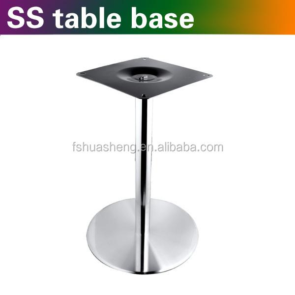 Single Leg Metal Dining Table Base Supplier