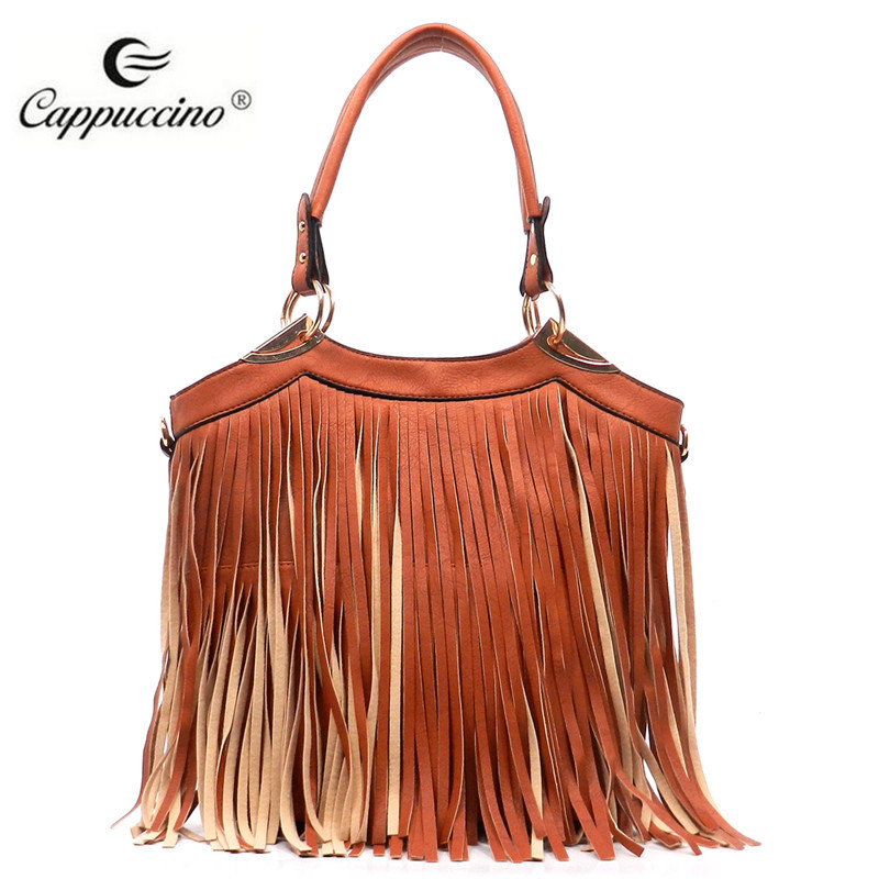 d5db4fe69094 2016 Wholesale Handbags Hot Selling Fashion Women Fringe Tassel Bags ...