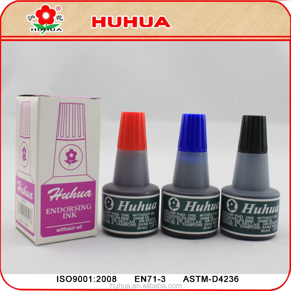 30ml dye refill ink stamp pad ink for office use bottle refill ink